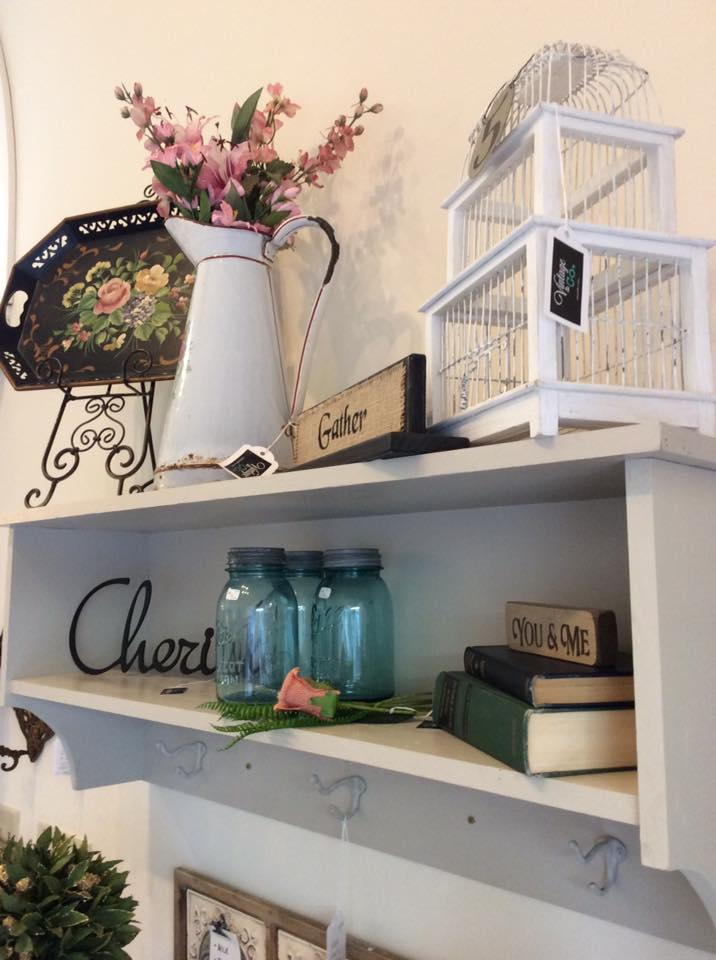 This Neutral Toned Wall Shelf Is Super Handy