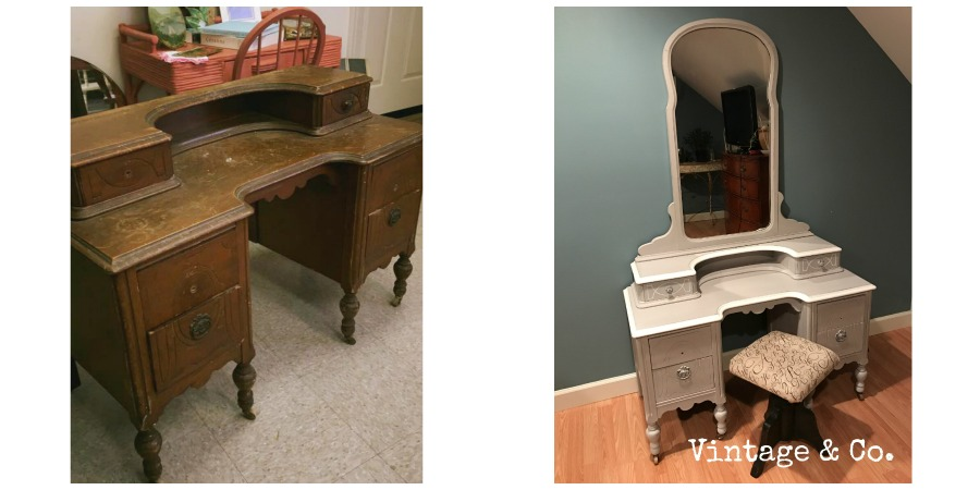Rogers Vanity B4 and After
