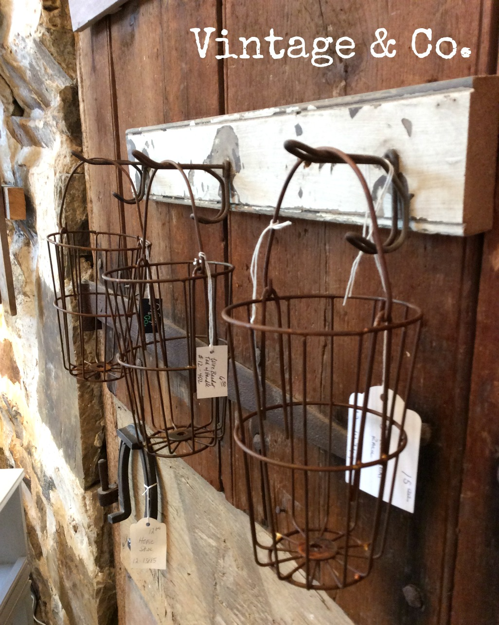 CoatRack Baskets